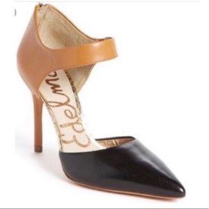 """Sam Edelman """"Della"""" Colorblock Heels Size 5"""